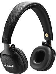 Купить <b>Наушники Marshall MID</b> Bluetooth Black по выгодной цене ...