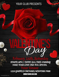Valentines Flyers Valentines Valentines Party Flyer Template Postermywall