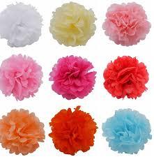 Make Tissue Paper Flower Balls 1pcs 15cm Tissue Paper Flower Ball Diy Handmade Paper Flowers Pom