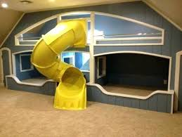 cool kids beds with slide. Kids Bed With Slide Bunk Beds Cool And Desk .