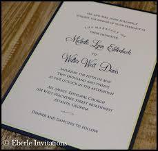 Traditional Wedding Invitation Traditional Wedding Invitations Archives Eberle Invitations
