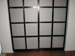 picture of shoji style sliding closet doors from scratch