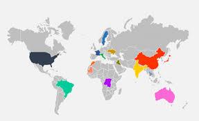 Map Of The World For Powerpoint Powerpoint Map Tirevi Fontanacountryinn Com
