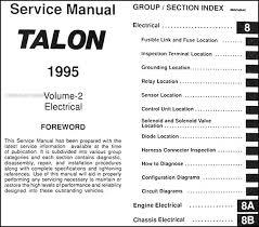 1995 eagle talon fuse diagram wiring diagram value