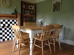 Pine Farmhouse Kitchen Table Wooden Farmhouse Table Wwwpinefurniturecornwallcouk