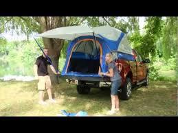 Truck Tent Set up Sportz 57 Series by Napier - YouTube