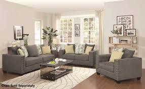 reclining living room furniture sets. Kelvington Grey Fabric Reclining Sofa And Loveseat Set Living Room Furniture Sets S