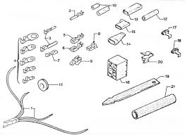 wiring harness wire ends fps west french parts service wiring harness wire ends