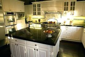 cost of laminate granite in black with wooden cabinets and impressive plus floor average installed
