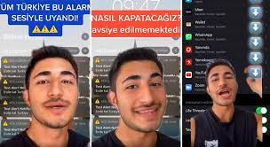 Milyonlarca iPhone Kullanıcısına Gönderilen 'Evde Kal Türkiye' Uyarısı ve  Alarm Sesi Ayarı Nasıl Yapılıyor? - onedio.com
