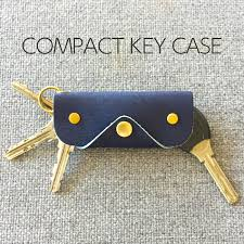 natural cowhide leather leather key case compact key holder leather keychain 4 book evoke leather in