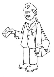 Small Picture Postman Pat Coloring Pages 3 Coloring Kids