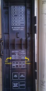 iod fuse location jeepforum com the bottom of the pdc cover has a diagram that numbers the first half of the fuses but not the second see image