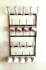 wall cup holder wall mug holders wall mounted mug holder architecture the best mug racks where to coffee with wall rack decor 7 chandelier plug wall