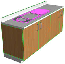 Generate A 3D View Of The Sink And Cabinet, Then Open The Solid Element  Operations Dialog From The Design Menu (note ...