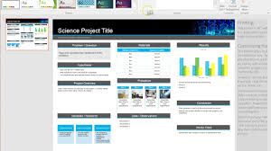 014 Scientific Poster Template Ppt Maxresdefault Marvelous