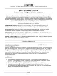 Mechanical Engineering Resume Templates 10 A Professional Template