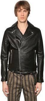 smooth leather biker jacket black leather biker jacket by the kooples