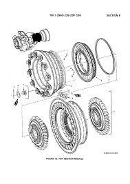 ENGINE ASSEMBLY, T700-GE-701 2/2   turbo-jet/fan/shaft/prop ...