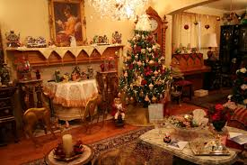 Of Living Rooms Decorated For Christmas American Living Room With Decorated Christmas Tree 4108 Latest