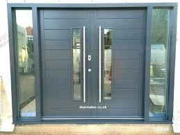 modern exterior front door doors double crimson for solid wood entry mod modern exterior front door