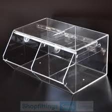 acrylic candy storage box 38x30x20