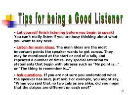 listening skills  23
