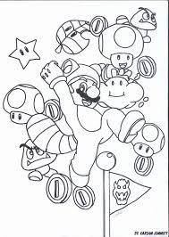 Mario Kleurplaat Geïnspireerd Ausmalbilder Mario Schön Super Mario