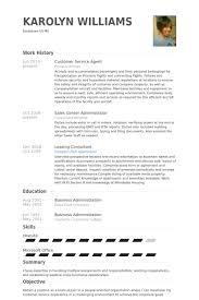 Service Agent Resume Samples - Visualcv Resume Samples Database