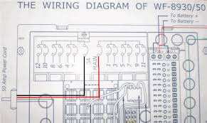 a wire 50 rv plug diagram wiring diagram for 50 amp rv plug the wiring diagram rv open roads forum tech issues