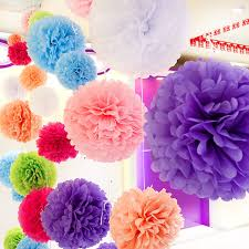 aliexpress com buy diy multi colour 12 30cm 5pcs paper flowers