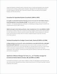 One Page Resume Example Impressive One Page Resume Examples Luxury 48 New E Page Resume Example