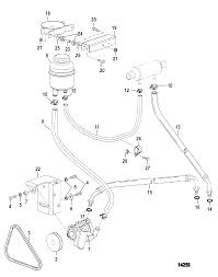 Power steering ponents sterndrive