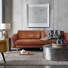 Latitude Tile And Decor LATITUDE 100 Seat Leather Sofa Caramel Leather and Living rooms 68