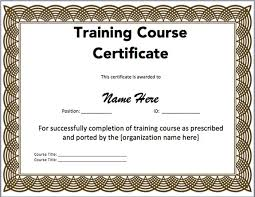 free training completion certificate templates 15 training certificate templates free download templates