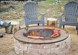 simple diy outdoor fire pitt faire soit mªme un simple foyer de for build your own