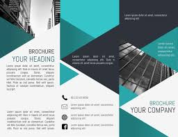 Trifold Template Tri Fold Brochure Template Postermywall