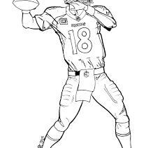 Denver Broncos Coloring Pages Wikipharminfo