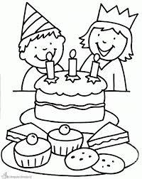 Kleurplaat Verjaardag Tweeling Of Jongen Of Meisje Kleurplaat