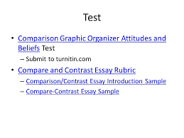 bradstreet and edwards ppt  test comparison graphic organizer attitudes and beliefs test