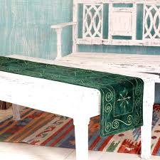 outdoor table runner handmade embroidered green table outdoor table runner ideas outdoor table runner