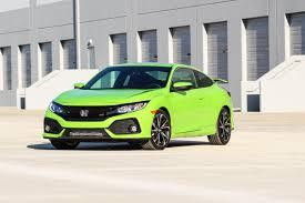 Honda Civic Light Green Green Fury 2017 Honda Civic Si Six Speed Blog