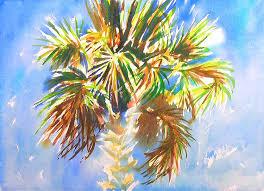 charleston palm tree painting tutorial 4