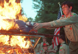 memorial day how to burn your american flag respectfully  memorial day 2014 how to burn your american flag respectfully com