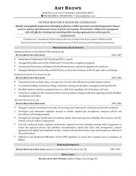 Hr Director Resume Sample Human Resources Objective State Sevte