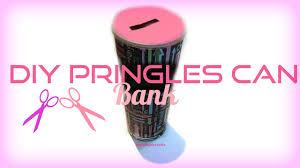 Diy Alkansya Design Diy Pringles Can Piggy Bank So Simple By Sosimplecrafts