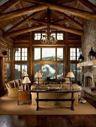 log cabin furniture ideas stone fireplace upholstered sofa set cabin furniture ideas