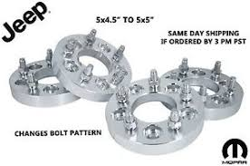 Jk Bolt Pattern Extraordinary 488x48488 To 488x488 Wheel Adapters Conversion Changes Bolt Pattern JEEP JK
