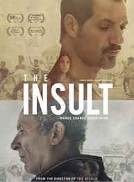 El insulto (2017) subtitulada