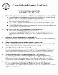 Special Education Paraprofessional Job Description For Resume Best